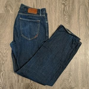 Banana Republic men's Vintage Straight Jeans 34x32
